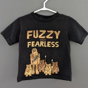 Fuzzy and Fearless Disney Parks Star Wars tee
